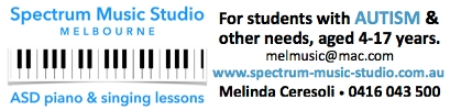 Click here for music lessons for students with autism and other needs Spectrum Music Studio