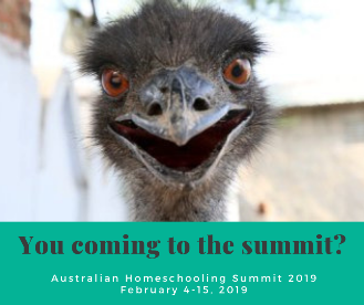 2019 Australian Homeschool Summit