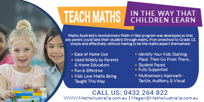 Teach Maths in the way that children learn with MathsUSee by MathsAustralia