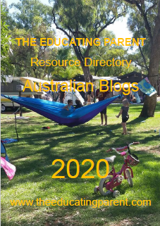Over 80 blogs by Australian homeschooling and unschooling families are listed in this FREE The Educating Parent Resource Directory by Beverley Paine, download and email to add your blog to the list today