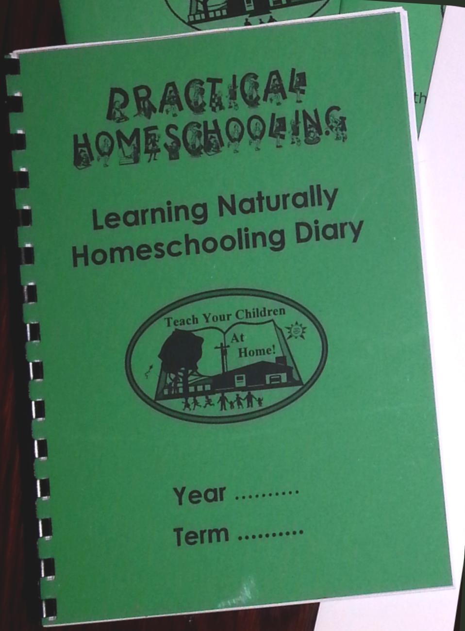 natural learning diary